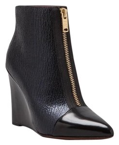 Marc by Marc Jacobs Wedge Bootie Zipper blue / black Boots