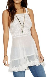 Free People short dress Marrekesh Tunic 8 M Ivory on Tradesy