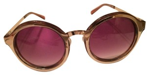 Other Large round metal frame sunglasses