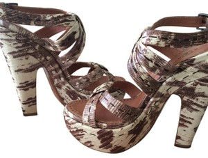 ALAA snake/brown Platforms