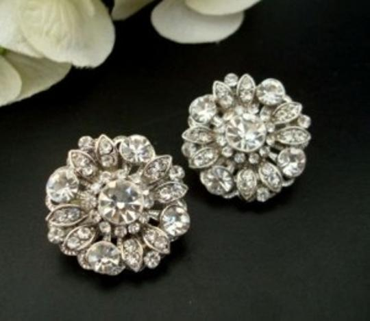 Silver Vintage Style Statement Earrings