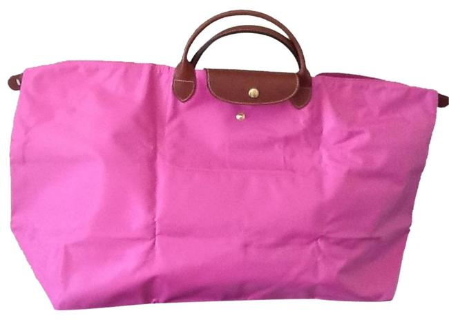 Item - XL Pl New Pink Nylon Weekend/Travel Bag