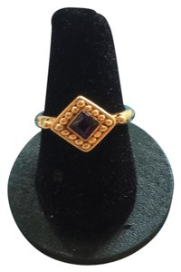 Vintage Berebi Ring Purple Stone size 7.5