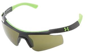 Under Armour Under-Armour 8600067-018830 Unisex Black-Green Frame Sunglasses
