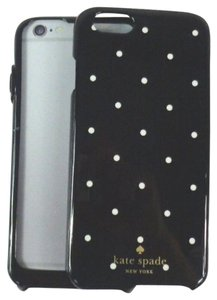 Kate Spade Kate Spade TMOM64338 Larabee Dot Black/White iPhone 6 6s Case