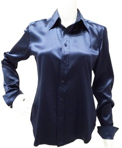Ralph Lauren 14k01 41 Button Down Shirt Midnight blue