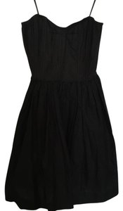 Tracy Feith for Target short dress Black A-line Strapless on Tradesy