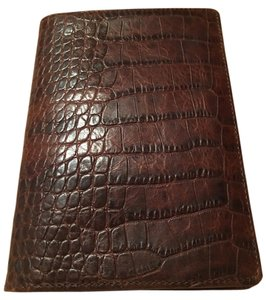 The Field Brown Croco Leather