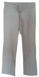 Zara Casual Lounging Skinny Pants Light Gray Melange
