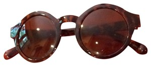 Urban Outfitters Round Tortise Sunnies