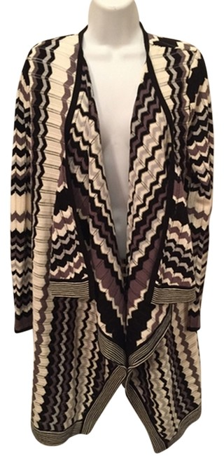 Preload https://item1.tradesy.com/images/neiman-marcus-black-white-sweaterpullover-size-12-l-1815440-0-0.jpg?width=400&height=650