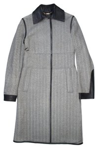 Gucci Herringbone Trench Coat