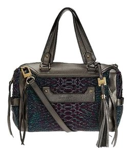 Aimee Kestenberg Purse Satchel in Crimson Snake