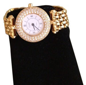 Van Cleef & Arpels Van Cleef & Arpels Diamond and Yellow Gold Watch