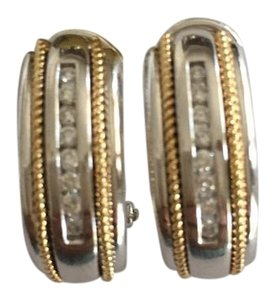 Di Stunning - 14k Gold & 1/4 Ct Diamond Earrings