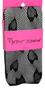 Betsey Johnson New Size Small - Medium Betsey Johnson Black Tights