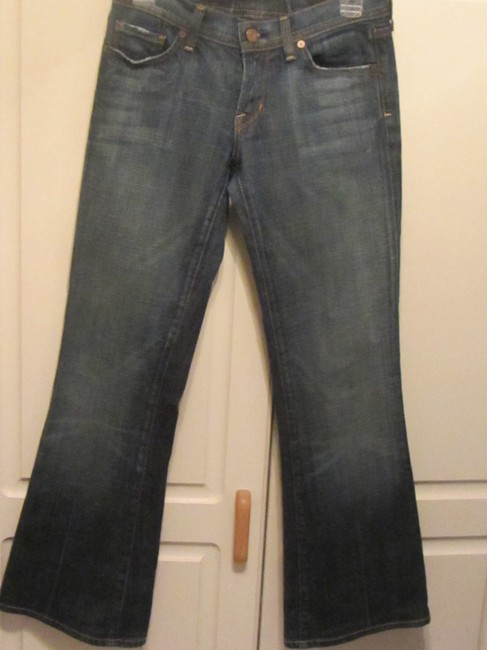 Citizens of Humanity Flare Leg Jeans-Medium Wash Image 1