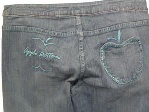 Apple Bottoms Boot Cut Jeans-Medium Wash