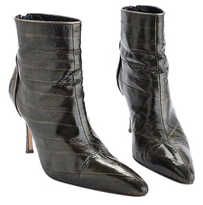 Manolo Blahnik Sheek Nyc black Boots