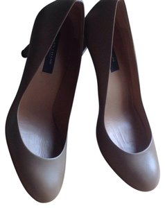 Ann Taylor Beige, natural, toffee Pumps