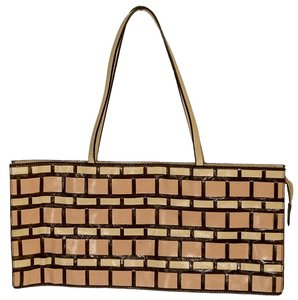 Miu Miu Tote in beige / brown / pink