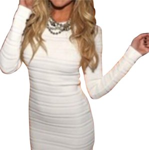 Torn by Ronny Kobo short dress White on Tradesy