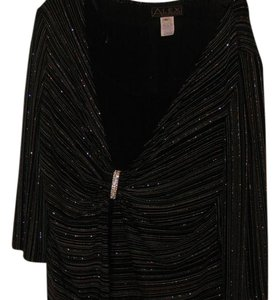 Alex Evenings Evening severl small lines o fdiff. color swith sequins Jacket