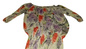 Forever 21 21 Floral Top cream/ floral