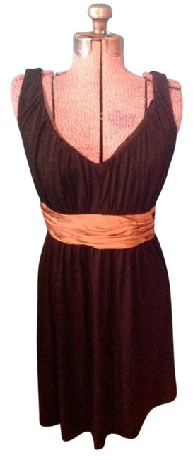 Item - Black Maggy Boutique Mid-length Work/Office Dress Size 10 (M)