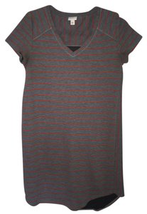 Target short dress Stripes Short Sleeve Vneck on Tradesy