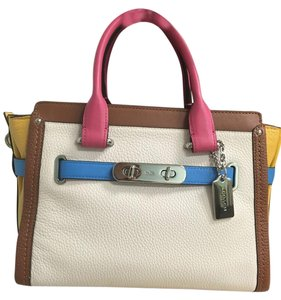 Coach Swagger 27 Colorblock Cross Body Bag