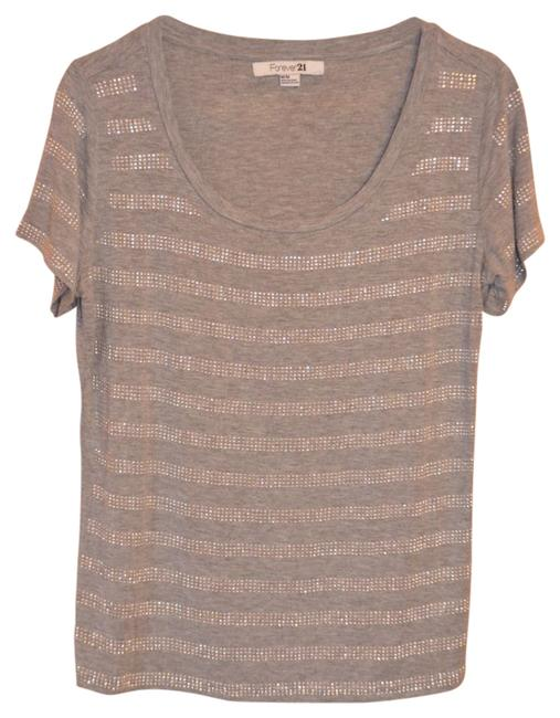 Preload https://img-static.tradesy.com/item/18157/forever-21-gray-embellished-shirt-night-out-top-size-8-m-0-0-650-650.jpg