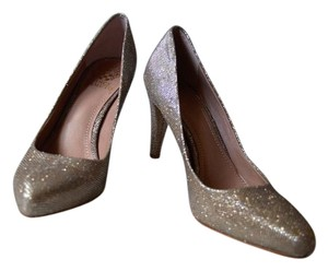 Vince Camuto Sparkle Silver/Gold Pumps