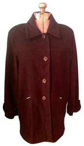 Larry Levine Wool Nylon Coat