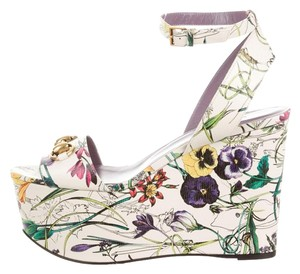 Gucci FLORA HORSEBIT WEDGES (REDUCE PRICE) Wedges