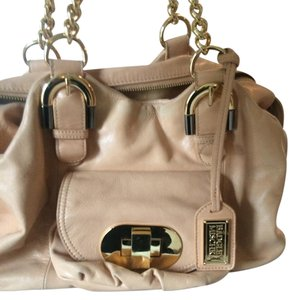 Badgley Mischka Satchel in beige