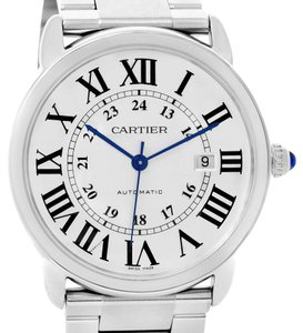 Cartier Cartier Ronde Solo Automatic Steel Date Mens Watch W6701011