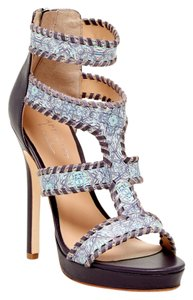 Nicole Miller Purple Sandals