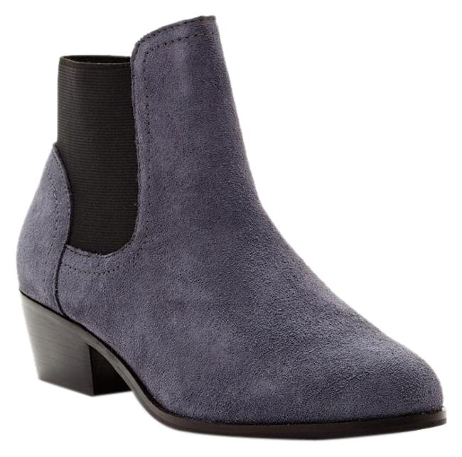 Item - Blue Gray Ankle Suede New Boots/Booties Size US 7.5 Regular (M, B)