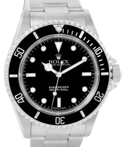 Rolex Rolex Submariner No Date Black Dial Mens Watch 14060 Year 2004