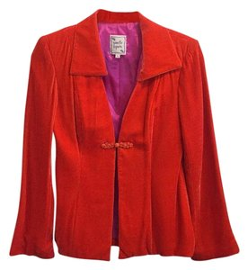 Nanette Lepore Jacket Red Blazer