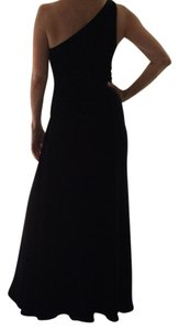 Laundry by Shelli Segal One Shoulder Velvet Dress