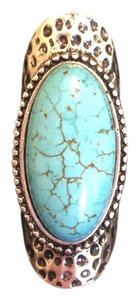 Boutique Turquoise Knuckle Ring size 6