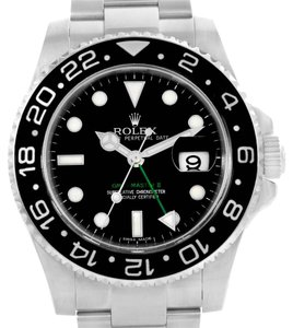 Rolex Rolex GMT Master II Steel Ceramic Automatic Mens Watch 116710