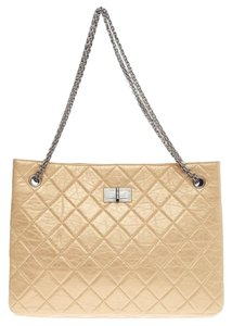 Chanel Calfskin Tote in Pale Gold