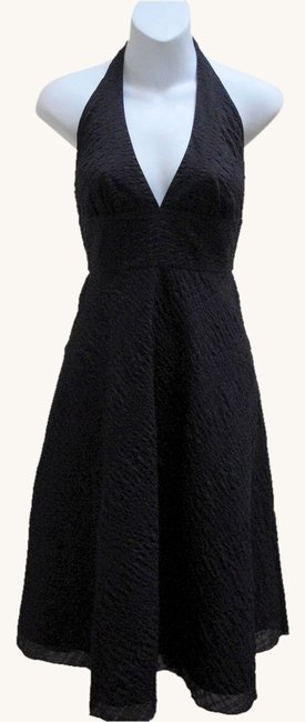 J.Crew Fit And Flare Deep V Neck Halter Dress