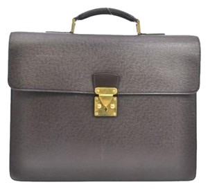 Louis Vuitton Briefcase Taiga Laptop Red Travel Bag