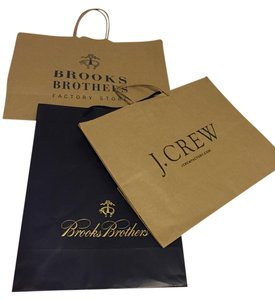 Brooks Brothers Three large gift bags