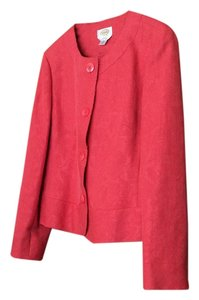 Talbots raspberry red Blazer