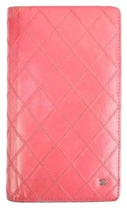 Chanel Long Quilted Wallet 164845